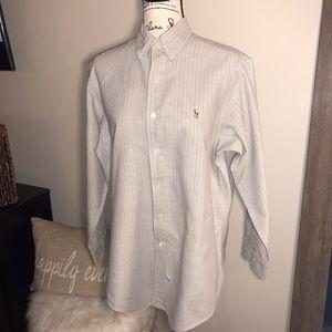 🆕 Ralph Lauren Men's Multi-striped Oxford Shirt
